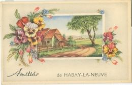 Amitiés De Habay-la-Neuve (moulin) - Non Voyagé. - Habay