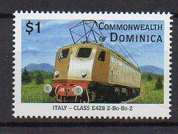 DOMINICA. TRAINS. MNH (2R0452) - Trenes