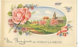Un Bonjour De Habay-la-Neuve (église) - Non Voyagé. - Habay