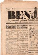 Vieux Papiers > Non Classés Journal Benjamin N° 1 Du 14 Novembre 1929 - Vieux Papiers