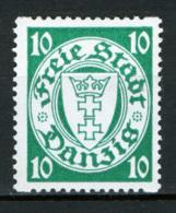 Danzica 1924 Unif.178r **/MNH VF - Dantzig