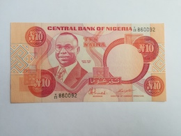 NIGERIA 10 NAIRA - Nigeria