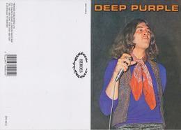 Deep Purple Original Postcard In Near Mint Condition Uk Edition 007 - Postcards