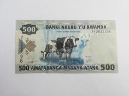 RWANDA 500 AMAFRANGA 2013 - Rwanda