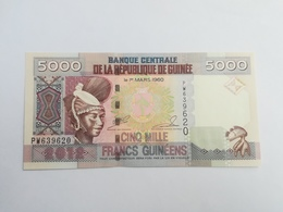 GUINEA 5000 FRANCHI 2012 - Guinée