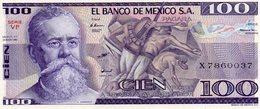 REPUBLIQUE DEL MEXICO / 100 PESOS  / EL BANCO DE MEXICO S.A. - Mexique