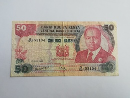KENIA 50 SHILINGI 1985 - Kenia