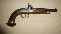 PISTOLET OFFICIER  1830- 1840 - Armes Neutralisées