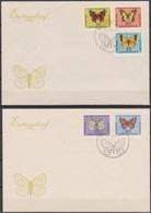 DDR FDC 1964 Nr.1004 - 1008 Schmetterlinge ( D 6440 )günstige Versandkosten - FDC: Briefe