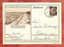 P 236 Hindenburg, Abb: Ostseebad Kuehlungsborn, Herborn Nach Giessen 1940 (61259) - Deutschland