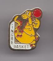 Pin's Ingre Basket Dinosaure Dpt 45 Réf 7036JL - Basketball