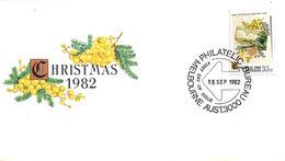 Christmas Noël Weihnachten Jul Navidad 1982 - Australia - Sobre Primer Día (FDC)