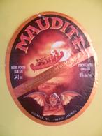 étiquette Ancienne Brasserie  MAUDITE  Chambly QUEBEC - Bier