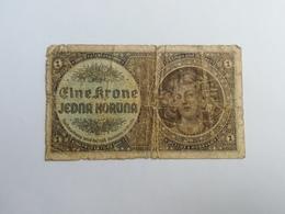 BOEMIA E MORAVIA 1 KORUN - Tchécoslovaquie