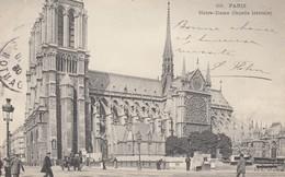 Paris - Notre-Dame - ( Façade Latérale ) - Eglises