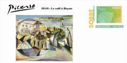 Spain 2013 - Picasso Collection Prepaid Cover - 1940 Le Café á Royan - Enteros Postales
