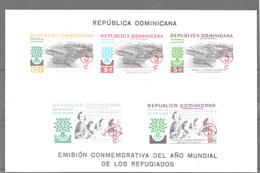 Hoja Bloque De Dominicana Nº Yvert HB-19 S/d ** - Dominicaine (République)