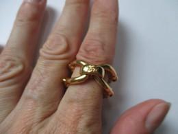 D&G Jewels Anello Acciaio Placcato Oro - Anelli