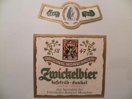 étiquette Ancienne Brasserie ZMICKELBIER  Original Monschauer Autriche - Bière