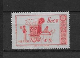 LOTE 1789  ///  (C075)  Chine 1953 Y&T 987 NSG - Fresques Des Grottes De Toun-hwang - 1949 - ... République Populaire