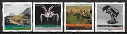 France 2012 N°4650/4653 Neufs Série Artistique Conjointe Avec Hong Kong à La Faciale - Unused Stamps