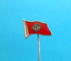 MEDITERANSKA PLOVIDBA KORCULA - Croatia Ex Yugoslavia Shipping Company Old Pin Compagnia Di Navigazione Reederei Ship - Barcos