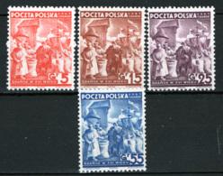 Danzica 1938 Unif.34/37 **/MNH VF - 1919-1939 Repubblica