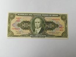 BRASILE 10 CRUZEIROS 1967 - Brasile