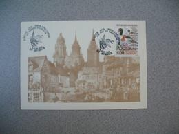 Enveloppe 1993  L'Eure  Aux Philatélistes  Les Oiseaux Aquatiques - Sonstige