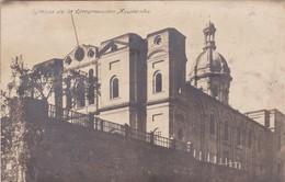 IGLESIA DE LA ENCARNACION. ASUNCION. ED ALBONES. CIRCULEE 1934 A BUENOS AIRES. 2 COLOR STAMPS-RARE- BLEUP - Paraguay