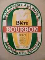 étiquette Ancienne Brasserie  Bière Brassée A La REUNION  Bière BOURBON - Bière
