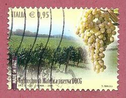 ITALIA REPUBBLICA USATO - 2015 - Made In Italy Vini DOCG Verdicchio Di Matelica Riserva - € 0,95 - S. 3631 - 2011-...: Usati