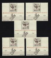 POLEN - Mi-Nr. Block 67 X 5 Steinigung Hl. Stephan; Zeichenstudie Aquarell Von Peter Paul Rubens Postfrisch - Blocks & Kleinbögen