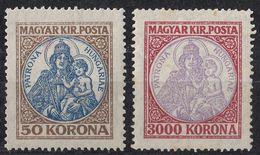 UNGHERIA - 1921/1925 - Yvert 315 E 365 Nuovi MH. - Nuevos