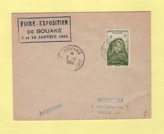 Cote D'Ivoire - Bouake - 9-1-1954 - Foire Exposition De Bouake - Côte-d'Ivoire (1892-1944)