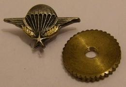 MILITAIRE PARACHUTISME 1 Etoile Pin's ANCIEN A VIS  Pin Pin's Pin - Army
