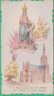 Image Pieuse - Sainte Anne D'Auray - A La Basilique De Ste Anne J'ai Prié Pour Vous - Devotion Images