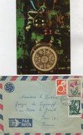 VP13.548 - SOFIA Bulgarie 1970 - Autographe Mr & Mme Mikaelian Annie & Boyan TCHOKMAKOV - Autographes