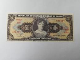 BRASILE 50 CRUZEIROS 1966 - Brésil