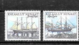 Serie De Groenlandia Nº Yvert 306/07 ** BARCOS (SHIPS) - Groenlandia