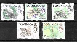Serie De Dominica Nº Yvert 162a/66a ** - Dominica (1978-...)
