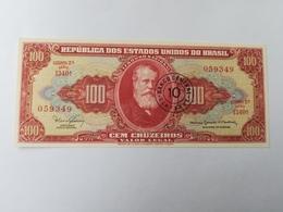 BRASILE 100 CRUZEIROS 1967 - Brésil