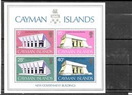 Hoja Bloque De Islas Caimán Nº Yvert HB-2 ** - Caimán (Islas)