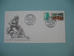 Enveloppe  1987   40 ème Anniversaire Amicale Philatélique Nemours St Pierre - Philatelic Exhibitions