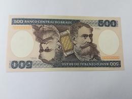 BRASILE 500 CRUZEIROS 1985 - Brésil