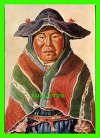 ARTS PEINTURE -  INDIAN WOMAN FROM CAPACHICA - AQUARELLE DE KARL DREYER (1895-1975) - Peintures & Tableaux