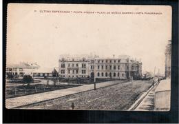 CHILE Punta Arenas Plaza Munoz Gamero 1922 OLD POSTCARD 2 Scans - Cile