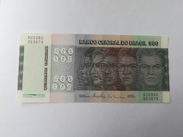 BRASILE 500 CRUZEIROS 1990 - Brésil