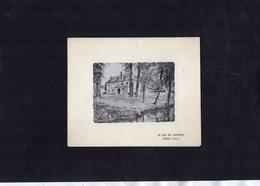 VP13.549 - PARIS X SENLIS  Le Gué De L'Aunette - Noblesse - Carte De Voeux De Mr Le Prince & Mme La Princesse SANGUSZKO - Collections