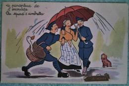 Carte De Sainte Catherine : Le Parapluie De L'escouade - Santa Catalina